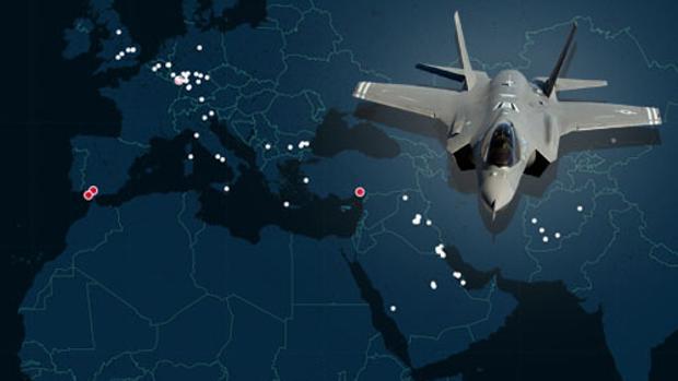 La inmensa red militar con la que Estados Unidos domina el mundo