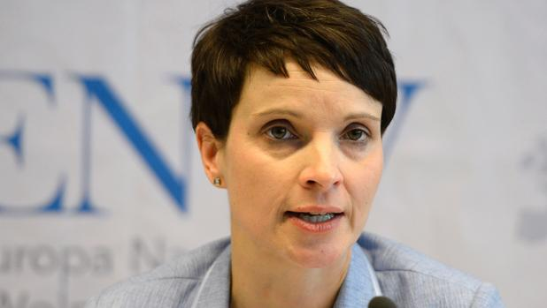 La líder de Alternativa para Alemania, Frauke Petry