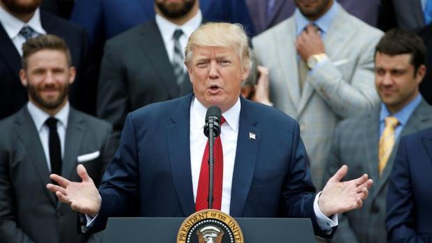 Trump ordena la revisión del acuerdo de EE.UU. con Irán