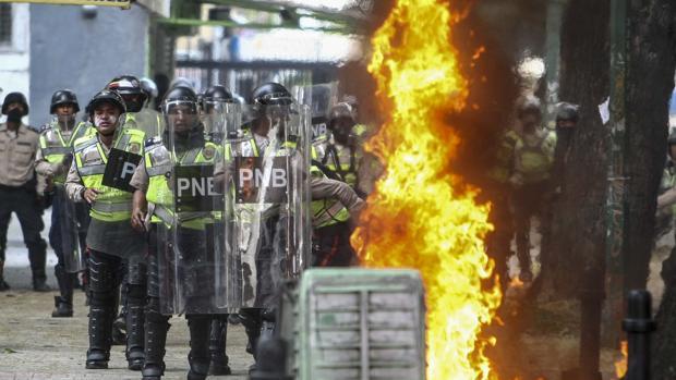 Detenido un médico, hijo de españoles, en los disturbios de Caracas