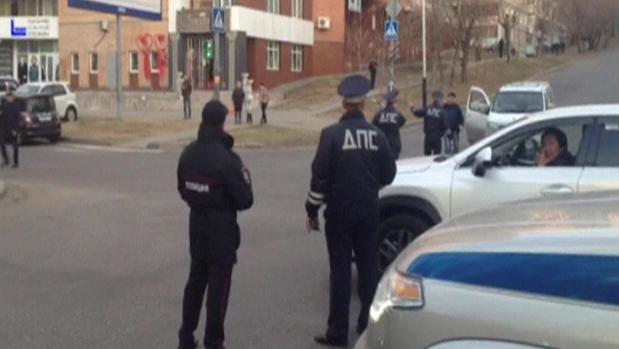 Dos personas han muerto en el ataque a una delegación regional del FSB