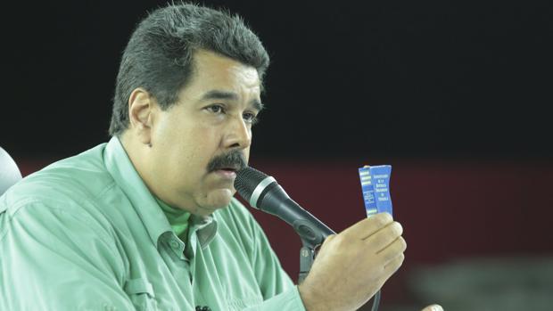 Imagen de archivo del presidente de Venezuela, Nicolás Maduro