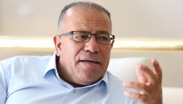Bassem Eid durante la entrevista con ABC