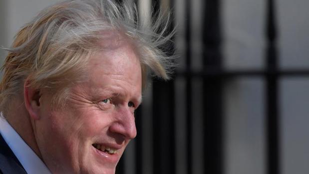Boris Johnson, en Downing Street, Londres