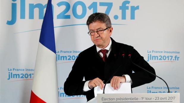 Mélenchon confirma que no pedirá el voto para ningún candidato en la segunda vuelta electoral
