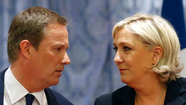 Hemeroteca: Le Pen anuncia que el eurófobo Dupont será su primer ministro si gana | Autor del artículo: Finanzas.com