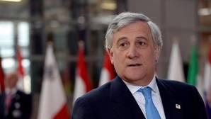 Antonio Tajani este sábado en Bruselas