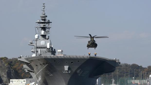 Hemeroteca: Japón despliega su mayor barco de guerra para escoltar al portaaviones de EE.UU. | Autor del artículo: Finanzas.com