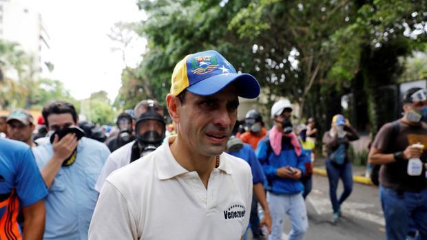 Capriles tilda de «fraude» la Asamblea Constituyente convocada por Maduro y llama a la desobediencia