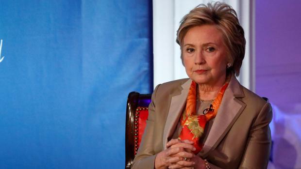 Hillary Clinton, en el marco del acto «Women for Women»