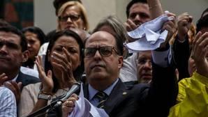 El presidente de la Asamblea Nacional de Venezuela (AN), el opositor Julio Borges
