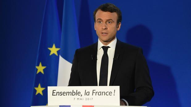 Macron: «Defenderé a Francia y a Europa»