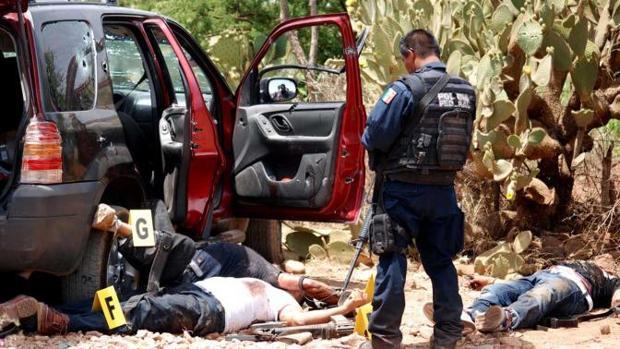 La guerra entre cárteles de la droga genera centenares de muertos al cabo del año en México