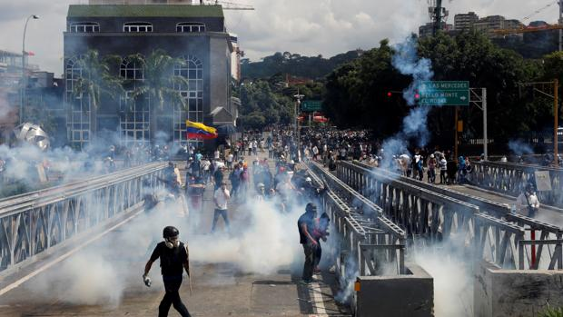 Continúan las movilizaciones contra el presidente Nicolás Maduro, que vienen desarrollándose desde hace 40 días