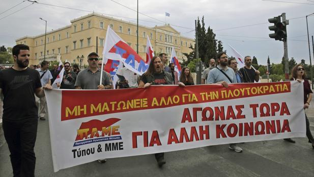 Huelga general en Grecia contra la nueva tanda de medidas contra la austeridad