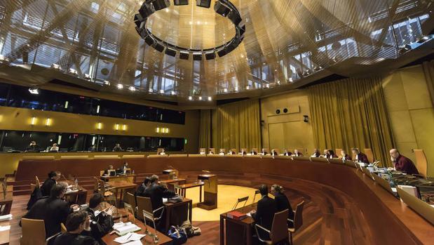 Gran Sala del Tribunal de Justicia de la Unión Europea