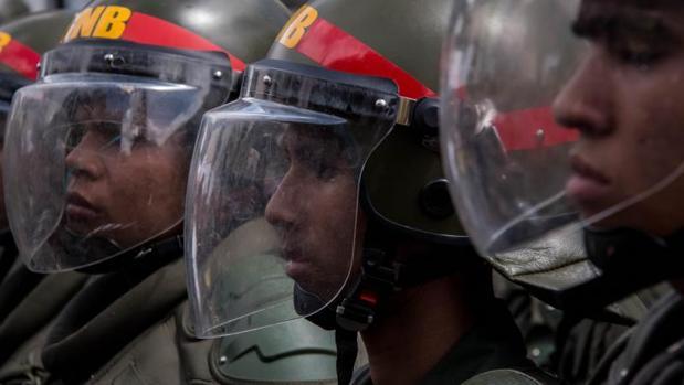 Agentes de la Guardia Nacional Bolivariana