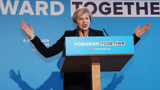 La primera ministra británica, Theresa May, este jueves