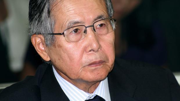 Alberto Fujimori durante el juicio en el que fue declarado culpable