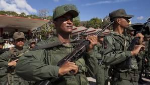 Miembros de la Fuerza Armada Nacional Bolivariana, en una imagen de archivo