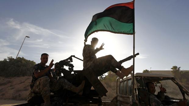 Una milicia armada en las cercanías de Trípoli el pasado 2012