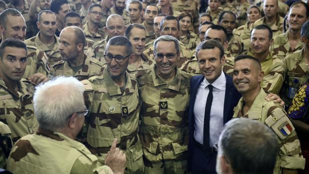 Macron visitó el pasado viernes a las tropas francesas desplegadas en Mali