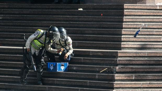 La manifestación opositora «Somos millones», disuelta de nuevo en Caracas