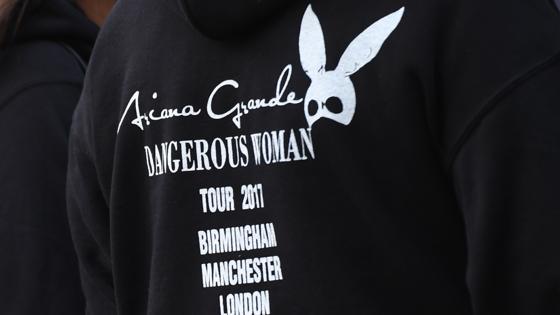 Un fan de Ariana Grande