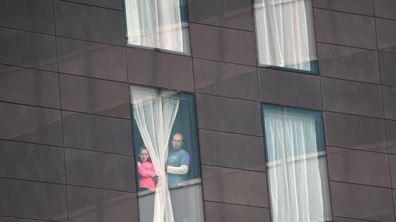 Los hoteles han acogido a menores que no han podido regresar a sus hogares