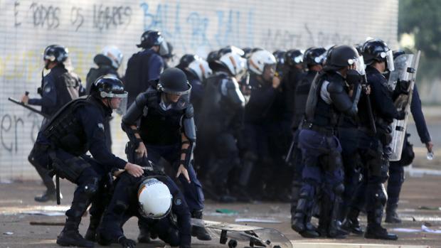 Temer convoca al Ejército para contener protestas en Brasilia