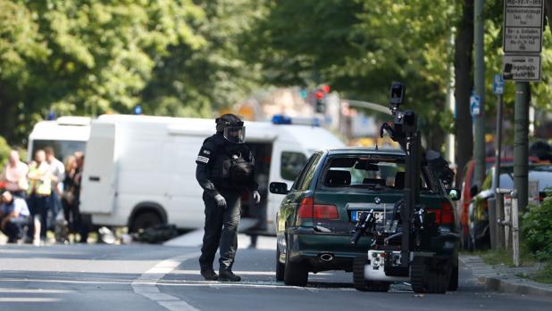 Alerta antiterrorista en Berlín por un automóvil sospechoso