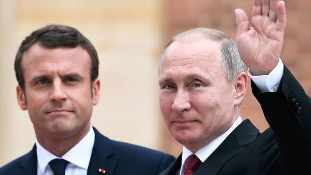 Macron y Putin no ocultan sus diferencias en un encuentro de «alto voltaje»
