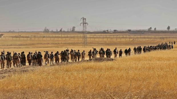 Milicias kurdas iraquíes