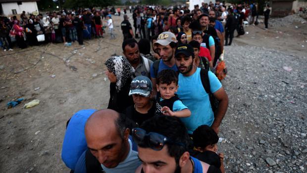 La Policía griega desmantela la red que trasladaba inmigrantes a otros países de la UE