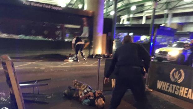 Imagen del ataque sufrido en Londres