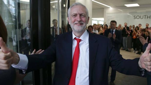El líder de los laboristas, Jeremy Corbyn