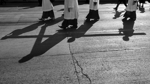 La comunidad católica de Tijuana se manifiesta por la paz, la familia y los emigrantes por las calles de la ciudad fronteriza