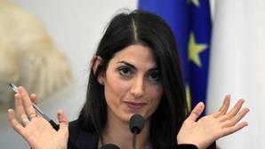 La alcaldesa de Roma y miembro del Movimiento 5 Estrellas, Virginia Raggi