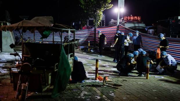 La Policía china sospecha que un perturbado se inmoló en la explosión ante una guardería