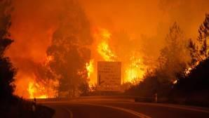 El fuego azota Portugal en las cercanías de Pedrogao Grande