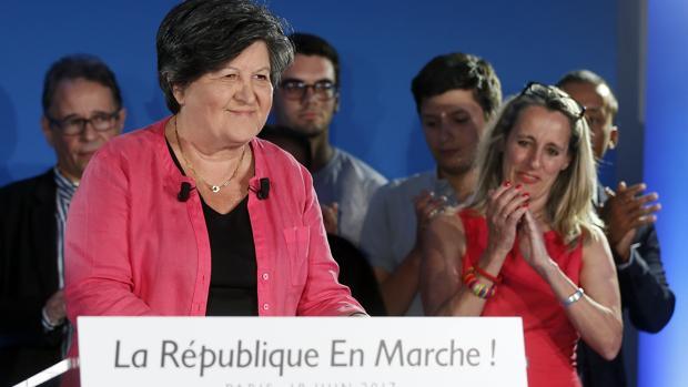 Catherine Barbaroux, presidenta interina de La República en Marcha