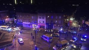 Un muerto en el atropello múltiple de Londres junto a una mezquita