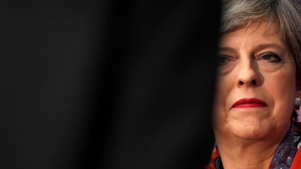 Theresa May, la semana pasada