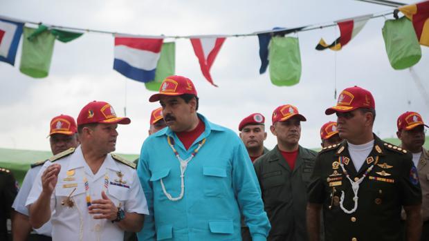Maduro releva al Estado Mayor de la Fuerza Armada Bolivariana