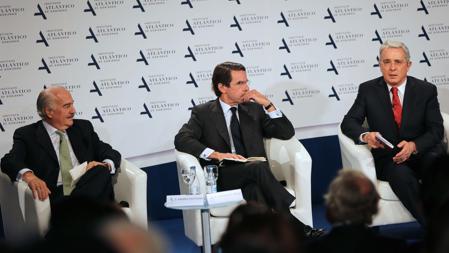 Aznar, Pastrana y Uribe en el Foro del Instituto Atlantico de Gobierno