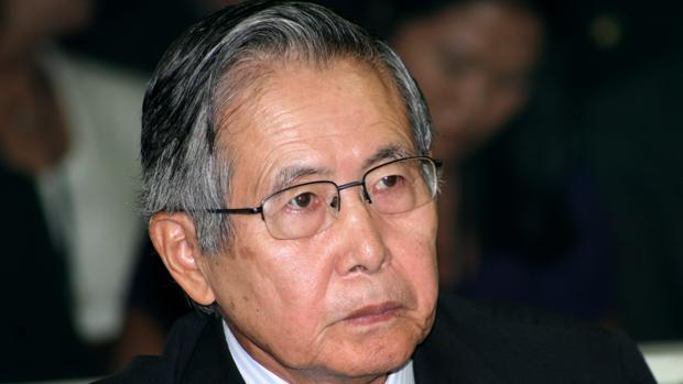 El expresidente peruano, Alberto Fujimori, durante el juicio en su contra en 2009