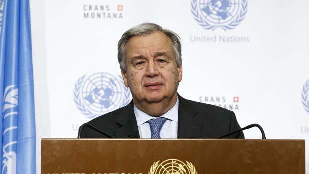 El Secretario General de las ONU, Antonio Guterres, anuncia que no hay acuerdo alcanzado en la conferencia sobre Chipre