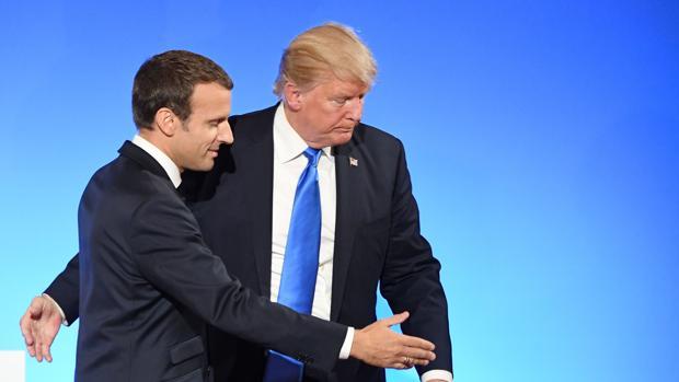 Macron y Trump se reconcilian y se alían en la lucha contra el terror