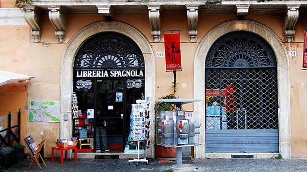 Adiós a la librería española de Roma
