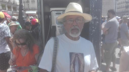 Alirio Infante, 67 años, artista plástico